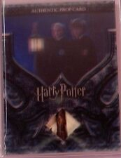Harry Potter-3D Pt2-Hologram-SS-Authentic-Prop Card-Draco Malfoy's Lantern-P1