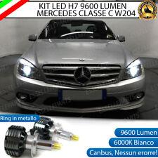 KIT FULL LED MERCEDES CLASSE C W204 LED H7 6000K XENON CANBUS + PORTALAMPADE