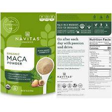 Navitas Maca Powder Organic Superfood Weight Gain Energy Balance Body 16 oz. Bag
