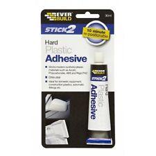 EVERBUILD HARD PLASTIC ADHESIVE FOR ACRYLIC POLYCARBONATE ABS  RIGID PVC   80132