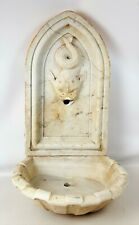 WALL SOURCE. MARBLE. NEOGLASTIC STYLE. SPAIN. XIX CENTURY.