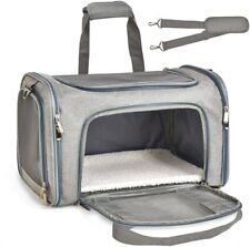 Henkelion Cat Carriers Dog Carrier Pet Carrier for Small Medium Cats Dogs