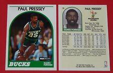 # 79 PAUL PRESSEY BUCKS MILWAUKEE 1989 NBA HOOPS BASKETBALL CARD