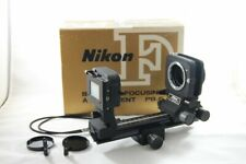 Near Mint Nikon PB 6 PB-6 bellows w/ PS-6, AR-4 Shutter Cable Release and Box