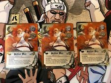 Naruto CCG Killer Bee Da Eighth S22 Foil Promo x3 Play Set Naruto Card