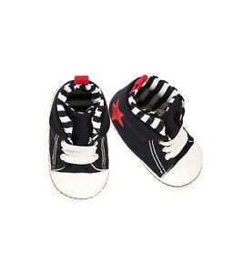 EMC Sneaker Krabbelschuhe Stoppi Baby Jungen Schuhe Stern Gr. 16 17 18 19 NeU