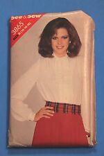 SEE & SEW BUTTERICK Sewing Pattern 3865 Sizes 14-18 1980s Blouse Pattern Uncut