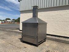 Large Incinerator Chimenea Smoker Burner kiln drier wood fire pit log burner
