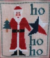 Cross Stitch Pattern Chart Texas Santa Visits Samplers Revisited