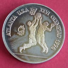More details for romania 1996 basketball olympic games 100 lei silver proof pattern