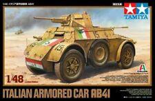 Tamiya 89778 Italian Armored Car AB41 1/48