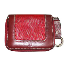 CLEARANCE: LANCEL RED ZIP AROUND WALLET