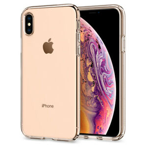 For Apple iPhone X XS XS Max XR Case Spigen®[Liquid Crystal] Clear Slim Cover