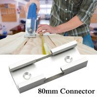Aluminium Alloy 80mm T-track Connector For DIY T-Slot Jig Fixture Slot  T K U U