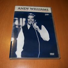 ANDY WILLIAMS - AT THE ROYAL ALBERT HALL ( DVD , 2 DISC SET ) ALL REGION