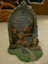 Thomas Kinkade Windows of Prayer Mountain Chapel Figurine