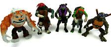 Lot of 5 Teenage Mutant Ninja Turtle Action Figures TMNT