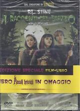 Dvd + Libro **I RACCONTI DEL BRIVIDO** di R.L. Stine nuovo sigillato 2007