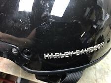 Harley-Davidson Midway DOT Motorcycle Biker Helmet A5047 Color Black Size Med