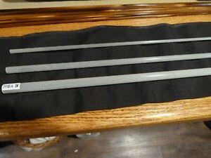 """S-GLASS Fly Rod Blank 7'6"""" 3wt 3 piece White, Spigot Ferrule, Rod Building"""
