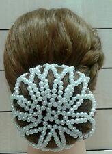 Acconciatura capelli SPOSA prima comunione cerimonia perle per chignon