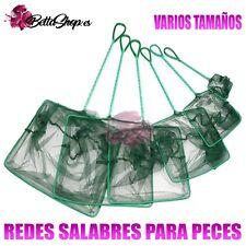 REDES PARA PECES SALABRES PARA PECES RED SALABRE ACUARIO COGER PECES REDECILLAS