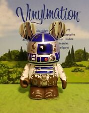 "DISNEY VINYLMATION 3"" Park Set 4 Star Wars R2-D2 Mud Empire Strikes Back"