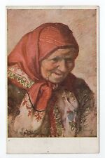 RUSSIE Russia Théme Types russes costumes Une vieille femme