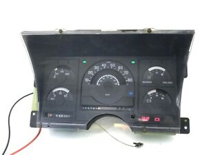 Instrument Cluster Speedometer Gauge Panel AT 328k for 88-91 GMC Chevy Truck C K