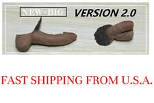 2 x 1/6 Male HUGE Genitals Penis 2.0 1/6 Male Body Phicen M31 M30 M32 M33 M34