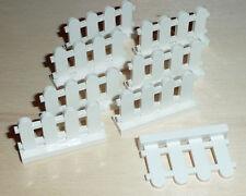 Nr.5994 Lego 33303 Basic  8 Zäune Zaun 1x4x2 weiß - white