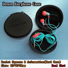 Denon Original Earphone Earbud Storage Pouch Box Hard Case