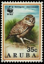 "ARUBA 103 - World Wildlife Fund ""Burrowing Owl"" (pb18788)"