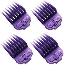 Andis 4 Piece Nano-Silver Magnetic Comb Set Large Hair Clipper Attachments 66320