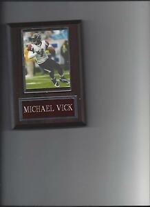 MICHAEL VICK PLAQUE ATLANTA FALCONS FOOTBALL NFL