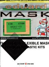 Eduard Mask 1:35 Brdm-2 Paint Mask For Trumpeter Kit #Xt199