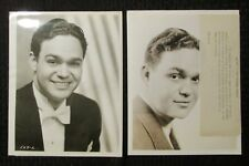 "JAMES MELTON 8x10"" B&W Promo Photo LOT of 2 FN 6.0"