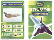 Military Jets Trumps (Chad Valley card game)
