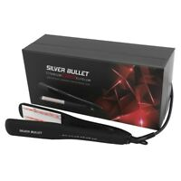 Silver Bullet Titanium 230 IR Elysium Infrared Wide Plate Hair Straightener 38mm