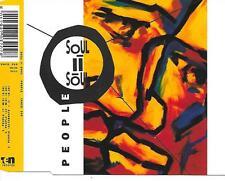 SOUL II SOUL - People CD SINGLE 3TR (10 Records) Soul / Funk 1990