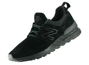 New Balance Herren Lifestyle 574 Retro MS574DA Schwarz Sneaker Top Modell Neu
