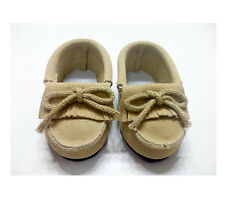 Tan Moccasin Shoes Fits 18 inch American Girl Dolls