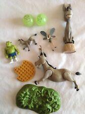 9 classic Shrek Donkey bobble bobblehead waffle Glow dark Balls Toys