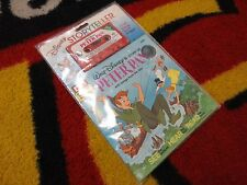 Vintage Peter Pan See Hear Read Along Book with Tape SEALED Buena Vista 80's