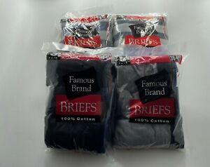 HANES  MEN   BRIEFS  12 PK ASSORTED  COLORS  OR BLACK& GRAY    FAMOUS BRAND BAG