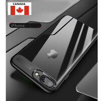 New Luxury Ultra Thin Clear Shockproof Bumper Case Cover iPhone 6 6S 7 8 Plus X