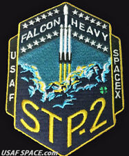 NEW STP-2 - SPACEX ORIGINAL - FALCON HEAVY Launch - USAF SATELLITE Mission PATCH