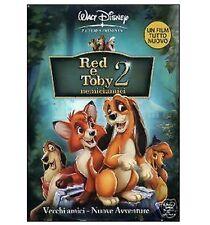 DISNEY DVD Red e Toby nemiciamici 2 con slipcover