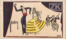 L'INFANTE A LA ROSE Espagne HOURY Flamenco DORZIAT Danse Marivaux MALOUZE 1921
