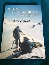Rare Book South Georgia Island Duncan Carse's Surveys Of 1951-56 Glaciers HB
